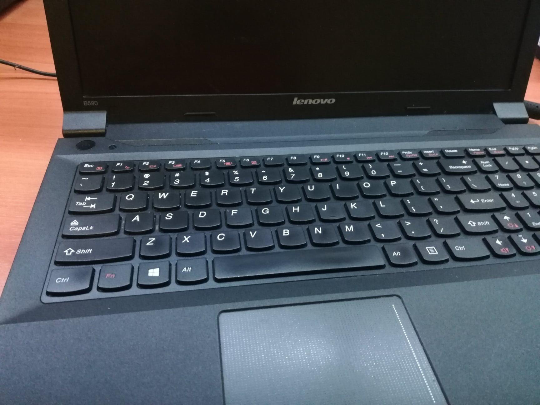 Laptop naprawiony