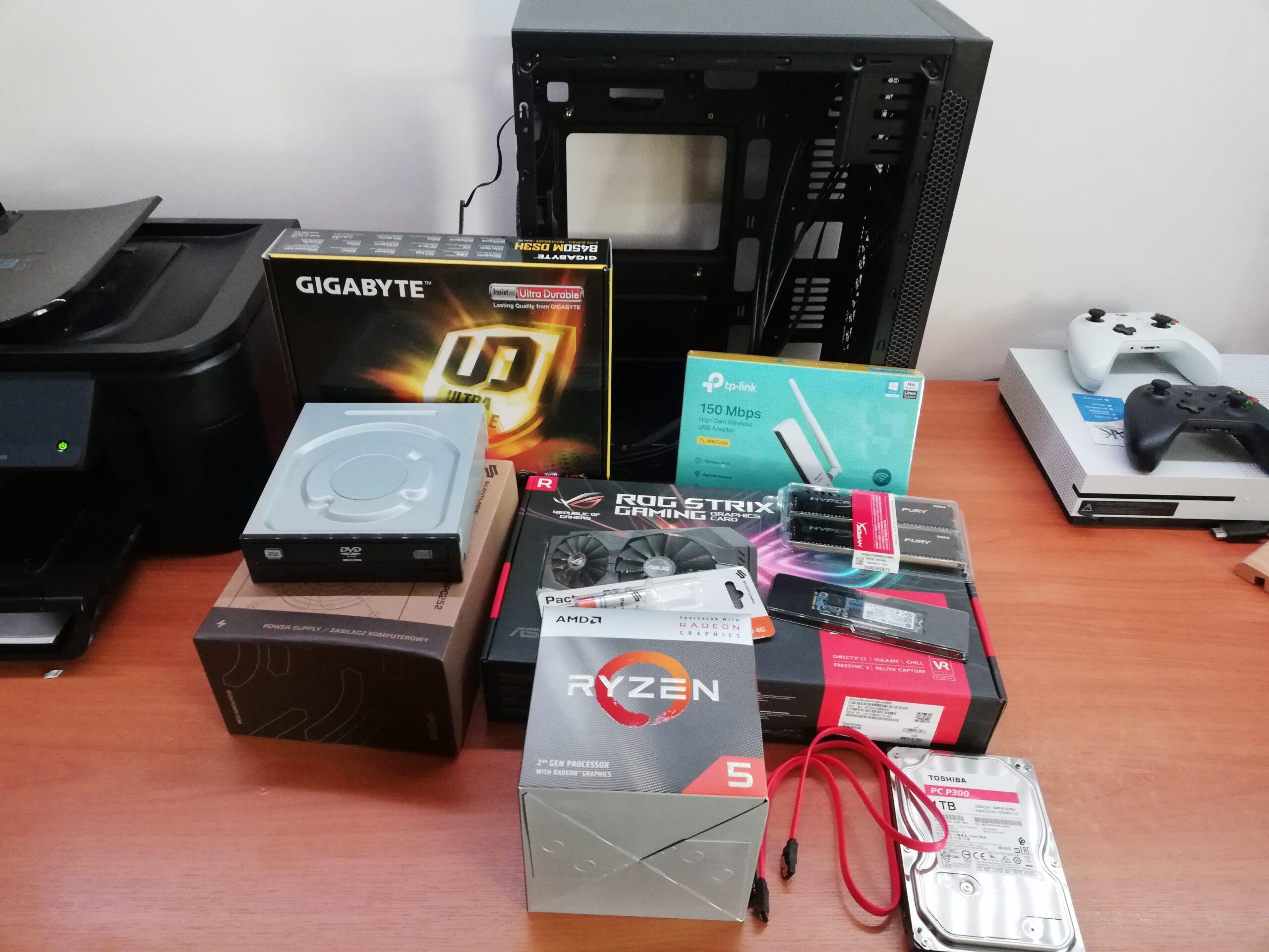 Części do komputera